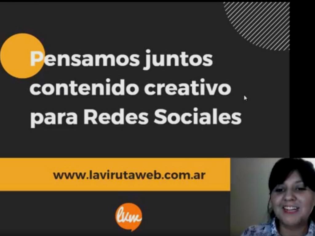 Volvé a mirar el Facebook Live sobre contenido creativo para las redes sociales