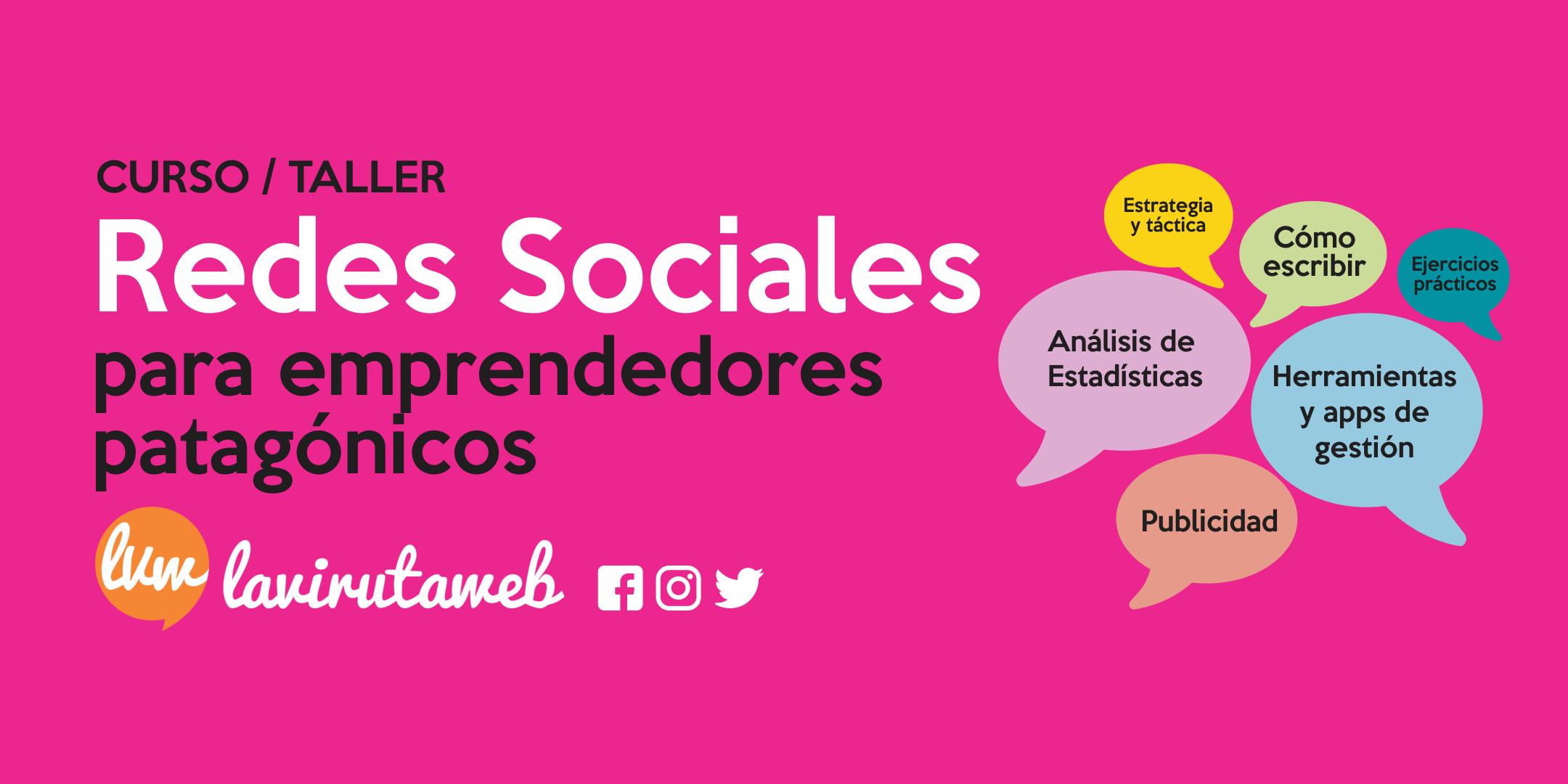 No te pierdas el taller de Redes Sociales para emprendedores patagónicos en Plaza Huincul
