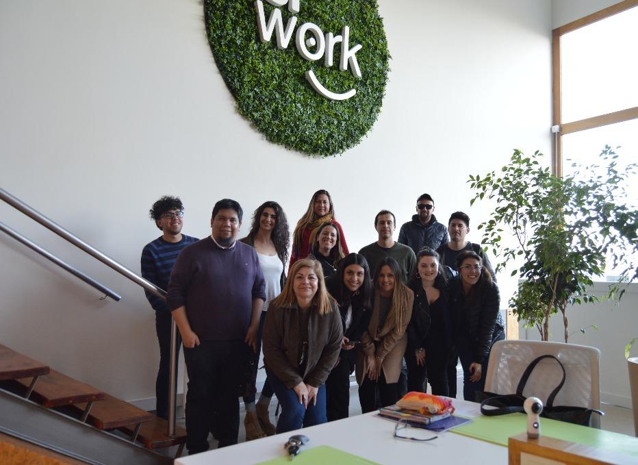 Taller de redes para emprendedores: Comodoro Rivadavia y Siwork Coworking nos recibieron con los brazos abiertos